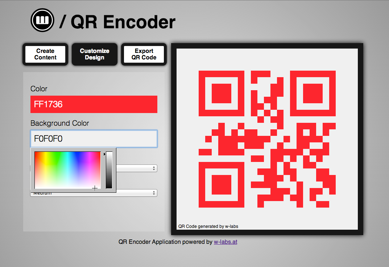 QR Encoder - 1