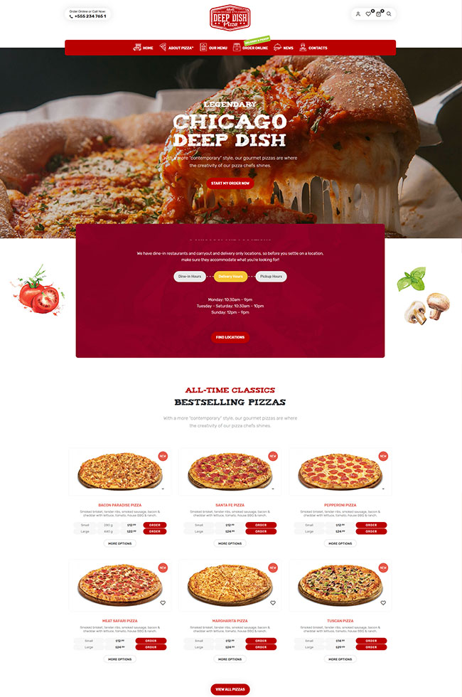 Lafka - WooCommerce Theme for Burger & Pizza Delivery - 10