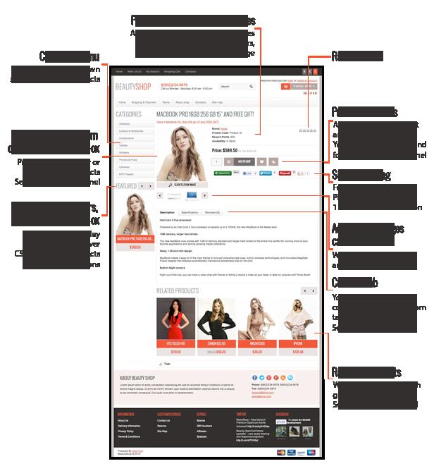 BeautyShop - Responsive OpenCart theme - 8