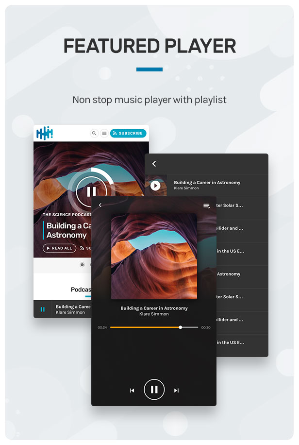 Wpcast - Audio Podcast WordPress Theme - 6
