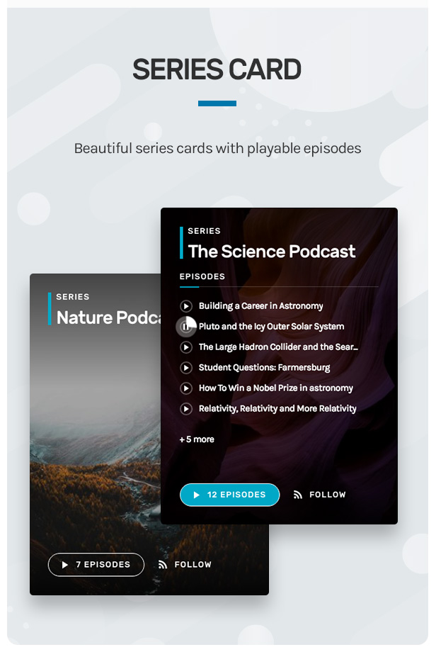 Wpcast - Audio Podcast WordPress Theme - 8