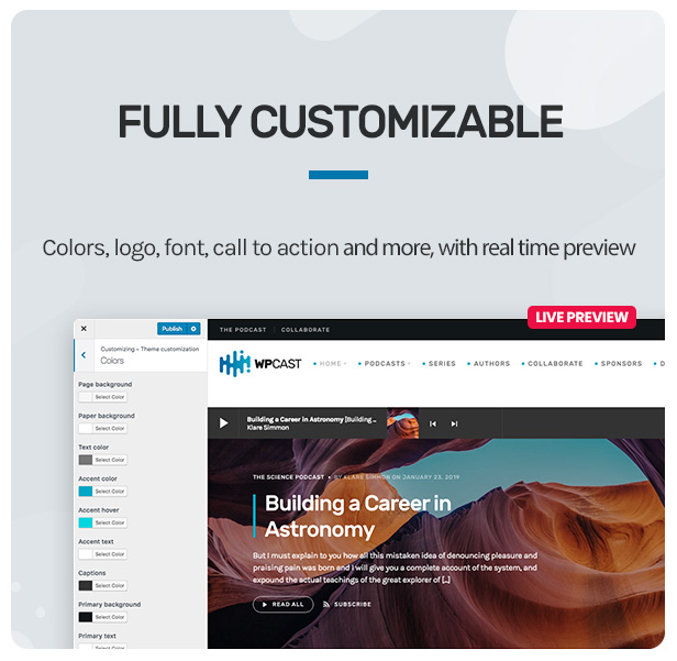 Wpcast - Audio Podcast WordPress Theme - 14