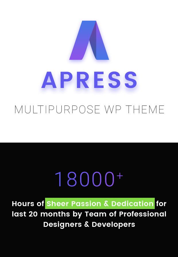 Apress - Responsive Multi-Purpose Theme - 19