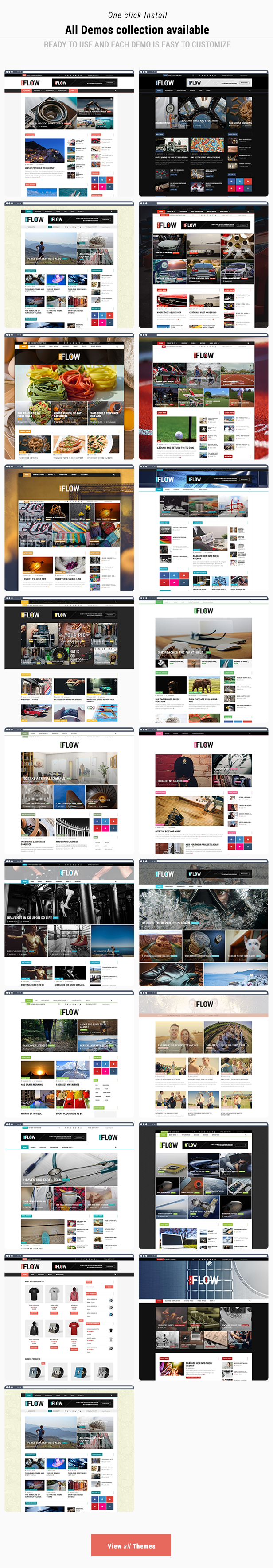 Flow News - Magazine and Blog WordPress Theme - 3