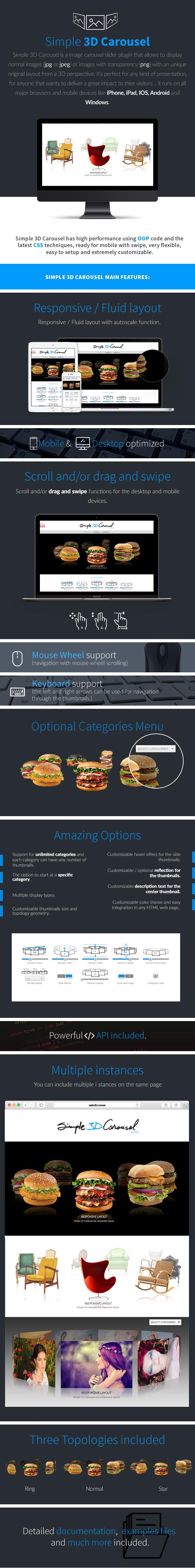 Simple 3D Carousel WordPress Plugin - 6