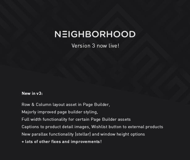 Neighborhood v3.0