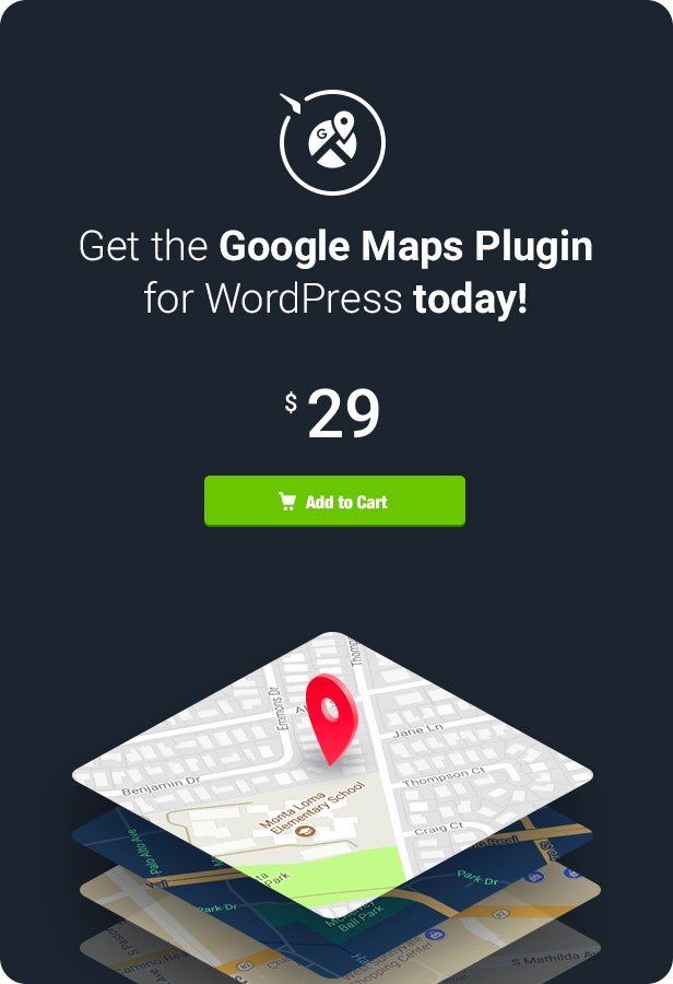 Google Maps - WordPress Map Plugin - 7