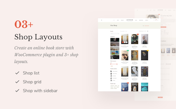 Auteur – WordPress Theme for Authors and Publishers - 11