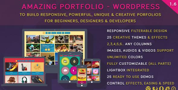 Photo of [Download] Amazing Portfolio – WordPress