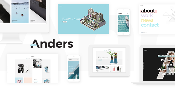 Photo of [Download] Anders – Design Portfolio Theme
