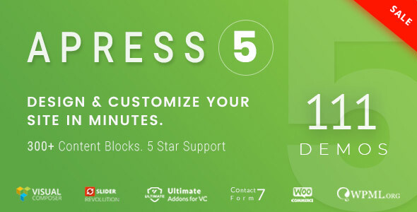 Photo of [Download] Apress – Responsive Multi-Purpose Theme