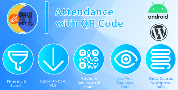 Photo of [Download] Attendance with QR code – Android + Plugin Wordpress