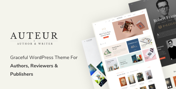 Photo of [Download] Auteur – WordPress Theme for Authors and Publishers