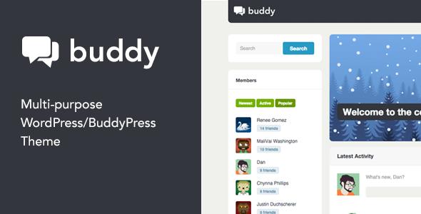 Photo of [Download] Buddy: Simple WordPress & BuddyPress Theme