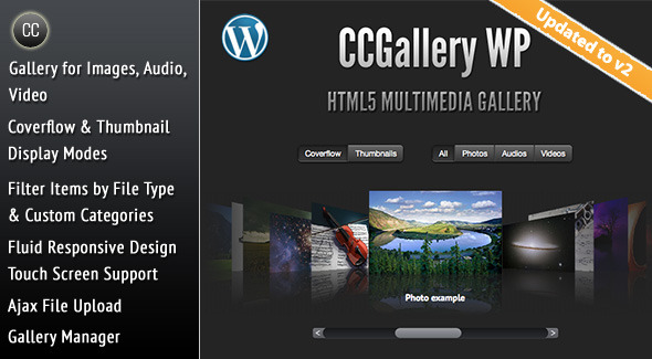 Photo of [Download] CCGallery WP – Multimedia Gallery Wordpress Plugin
