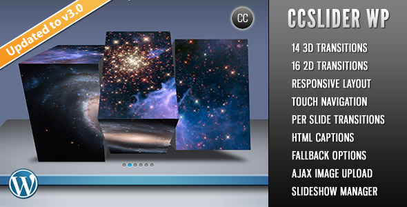 Photo of [Download] CCSlider WP – 3d/2d Slideshow WordPress Plugin