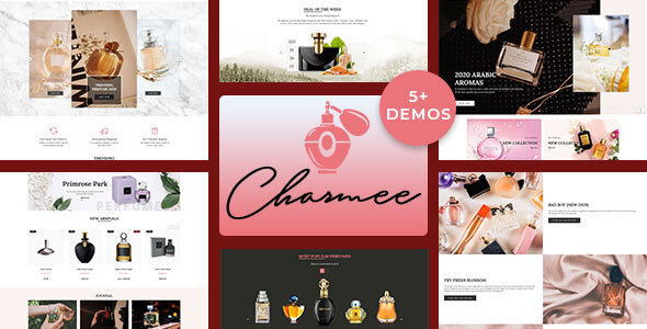 Photo of [Download] Charmee – Perfume And Cosmetics Shopify Theme