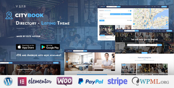 Photo of [Download] CityBook – Directory & Listing WordPress Theme