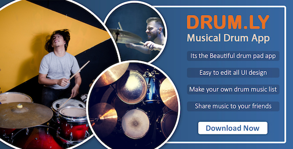 Photo of [Download] DRUM.LY : Musical drum pad app