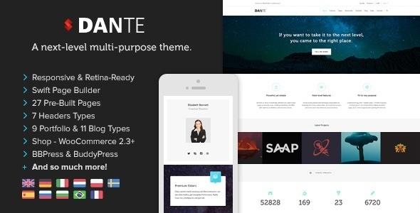 Photo of [Download] Dante – Responsive Multi-Purpose WordPress Theme