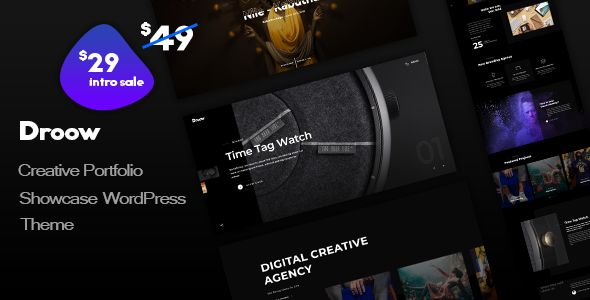 Photo of [Download] Droow – Ajax Portfolio WordPress Theme