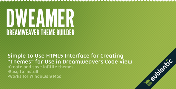 Photo of [Download] Dweamer – Dreamweaver Theme Builder