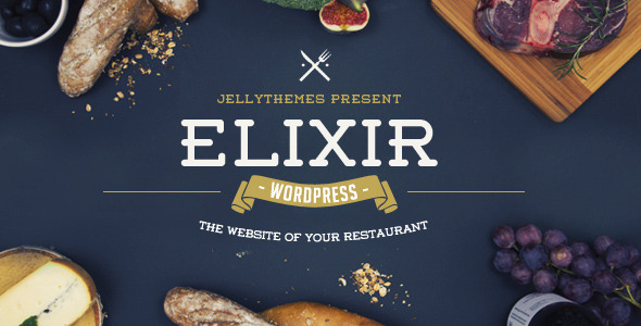 Photo of [Download] Elixir – Restaurant WordPress Theme