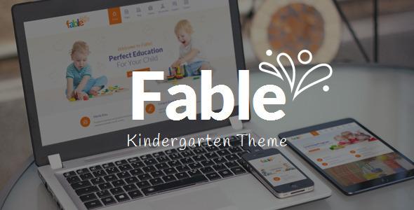 Photo of [Download] Fable – Children Kindergarten WordPress Theme