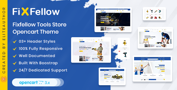 Photo of [Download] Fixfellow – Tools Store OpenCart Theme