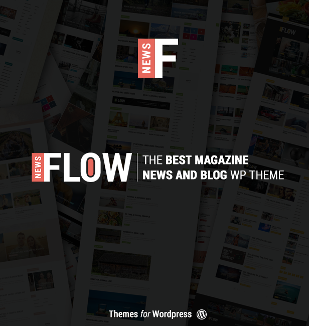 Flow News - Magazine and Blog WordPress Theme - 1