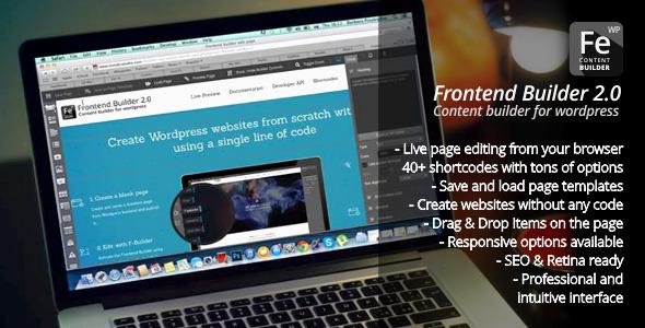 Photo of [Download] Frontend Builder – WordPress Content Assembler, Page Builder & Drag & Drop Page Composer