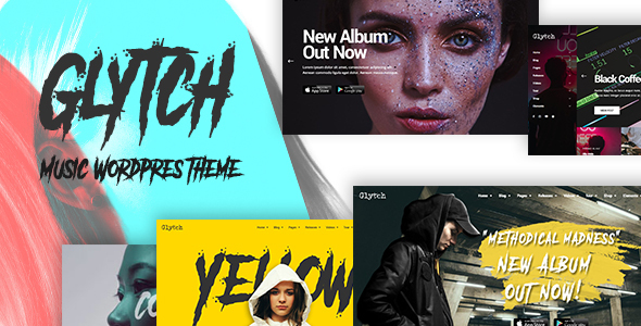 Photo of [Download] Glytch – A Vibrant Music Theme