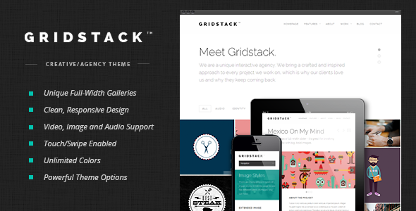 Photo of [Download] GridStack – Responsive Agency WordPress Theme