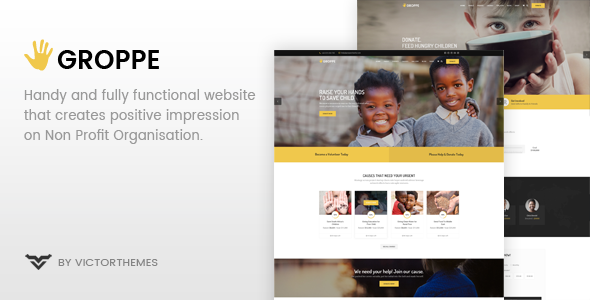Photo of [Download] Groppe – Nonprofit WordPress Theme