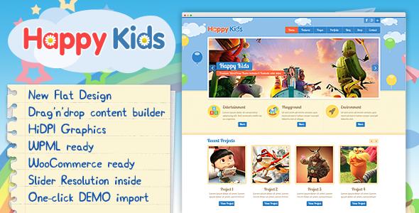 Photo of [Download] Happy Kids – Children WordPress Theme