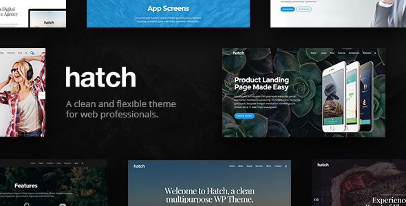 Photo of [Download] Hatch – MultiPurpose WordPress Theme