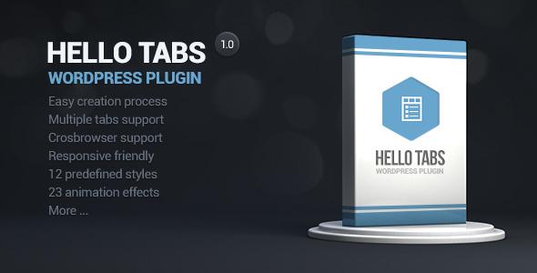 Photo of [Download] Hello tabs wordpress widget