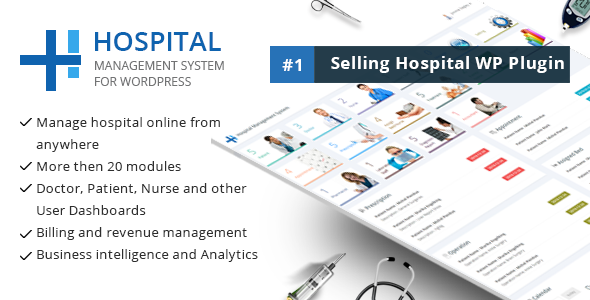Photo of [Download] Hospital Management System for Wordpress
