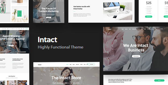 Photo of [Download] Intact – Multi-Purpose WordPress Theme