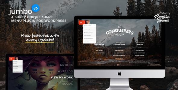 Photo of [Download] Jumbo: A 3-in-1 full-screen menu for WordPress