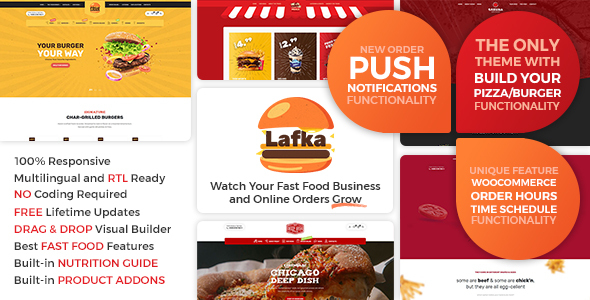Photo of [Download] Lafka – WooCommerce Theme for Burger & Pizza Delivery