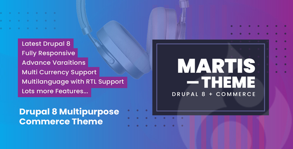 Photo of [Download] Martis Drupal 8 Commerce Theme