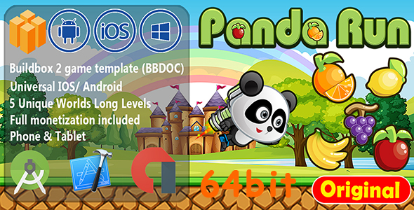 Photo of [Download] Panda Run Fruits Buildbox BBDOC 64bit
