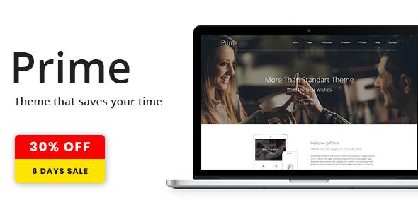 Photo of [Download] Prime | WordPress Theme