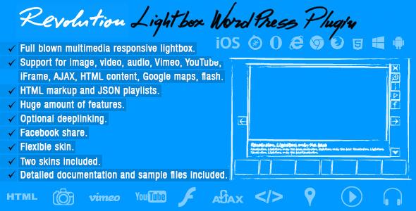 Photo of [Download] Revolution Lightbox Wordpress Plugin