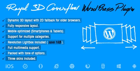 Photo of [Download] Royal 3D Coverflow Wordpress Plugin
