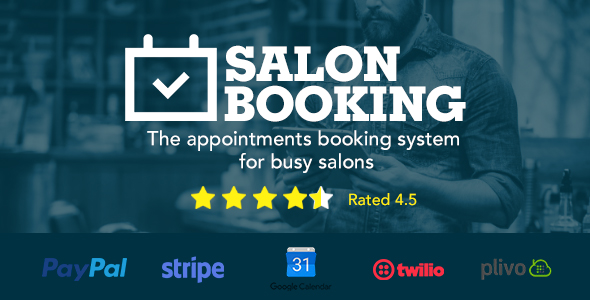 Photo of [Download] Salon Booking Wordpress Plugin