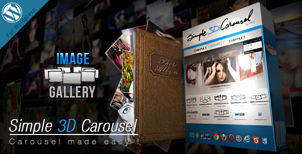 Photo of [Download] Simple 3D Carousel Wordpress Plugin