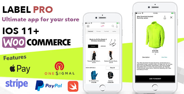 Photo of [Download] Store App For Woocommerce Shops and Ecommerce Sites – Label PRO Written In Swift XCode