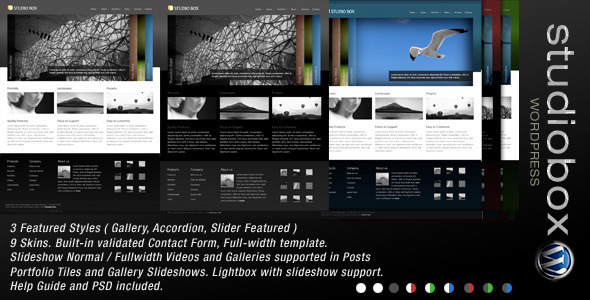 Photo of [Download] Studio Box | WordPress Theme
